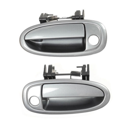 Front Pair Outside Door Handle Set 2PCS For 95-99 Toyota Avalon 4N7 Sable Pearl