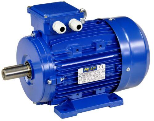Motor eléctrico 2200w 380v 1445u//min paßfeder 8mm ip55 b3-ejecución 2,2kw 00405