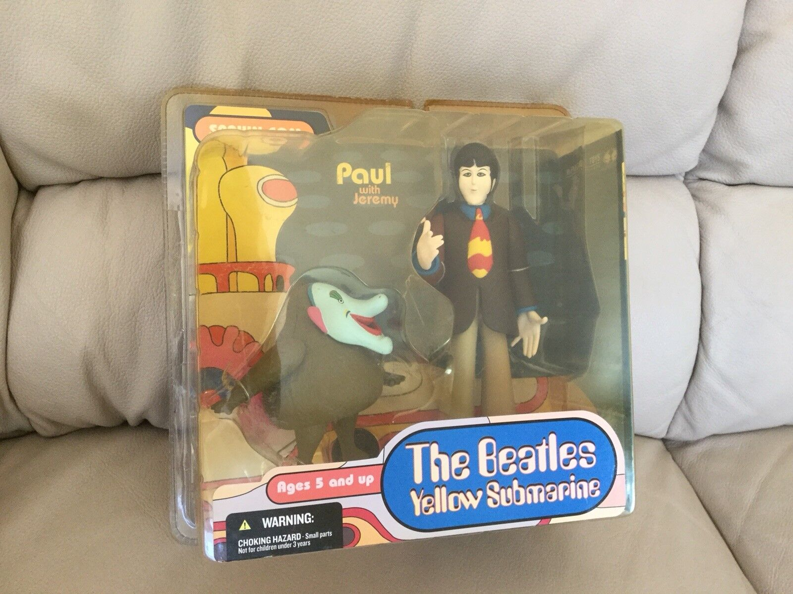 Spawn.Com The Beatles Yellow Submarine Paul Jeremy Action Figure MIB