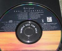 THE BEATLES Paul McCartney Japan PROMO CD + BONUS CD single OBI complete Nr MINT