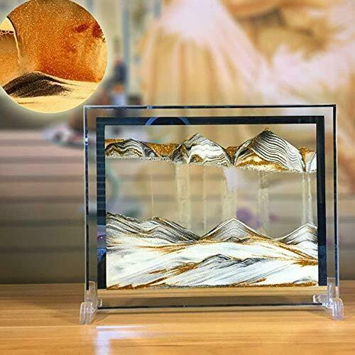 Moving Sand Art Picture Deep Sea Dynamic 3D Sandscapes Pictures in Motion Office