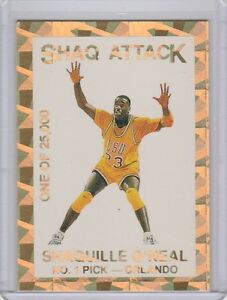 343611aa200 Shaquille O Neal Shaq Attack No. 1 Pick Limited Edition Promo  25000 ...
