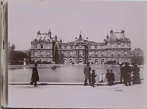 Jardin Du Luxembourg Paris Pendant L Exposition Universelle De 1900