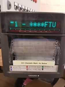 YOKOGAWA-CHART-RECORDER-uR1000-436003-100-240-Supply-138mmx138mm
