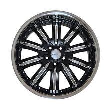 4 GWG Wheels 20 inch Matt Black NARSIS Rims fits NISSAN ALTIMA COUPE 2008 - 2009