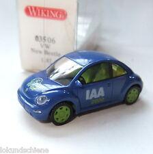 VW New Beetle IAA 2000 Wiking HO 1:87 #123