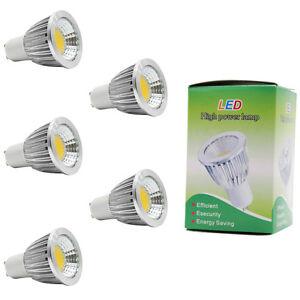 5x-GU10-5W-LED-Lampen-Birnen-Spot-Strahler-350lm-Warmweiss-3000K