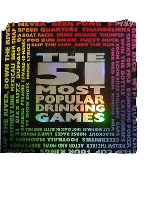Adult The 51 Most Popular Drinking Games Pong Dice New Poker Cards Complete Ebay