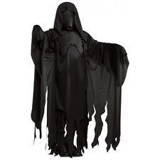 Dementor Costume Harry Potter Mens Grim Reaper Ghost Scary Halloween Fancy Dress