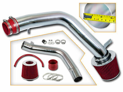 BCP RED For 04-08 Acura TL 3.2 V6 Cold Air Racing Intake System Filter