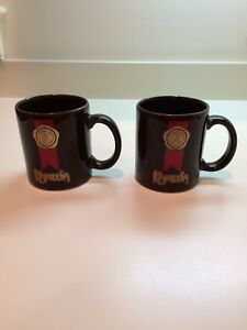 Details About Two Kahlua K Decorative Coffee Cups Mugs
