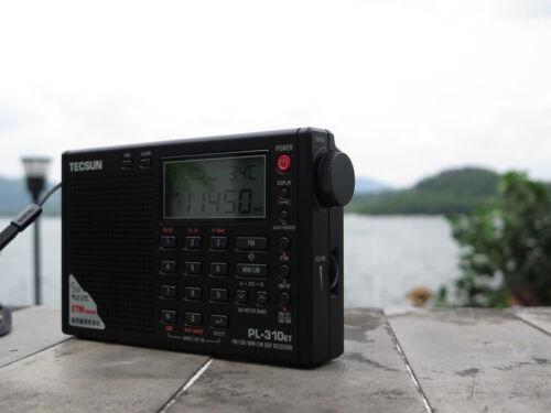 TECSUN PL-310ET FM AM Stereo Radio ETM LW SW DSP World Band Receiver AA Battery
