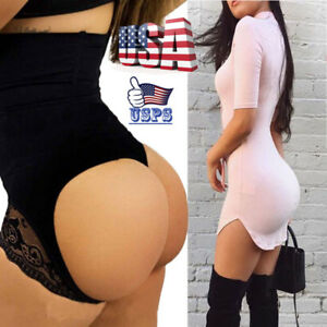 cc19903343 Image is loading Body-Shaper-Shapewear-Waist-Trainer-Cincher-Butt-Lifter-