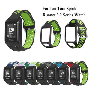 pulsera-Pulsera-doble-Cambiar-la-banda-For-TomTom-Spark-Runner-3-2-Series-Watch