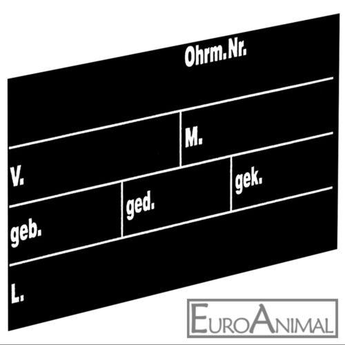 40 x 22 cm Stalltafel für Rinder