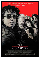 Horror: The Lost Boys Kiefer Sutherland Usa Movie Poster 1987