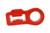 Hi Lift Jack Handle Isolator Poly Blend rattle Free In Red Rk9004 By Rukse