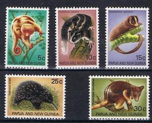 Papua-New-Guinea-1971-Mammals-SG-195-99-MNH