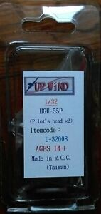 Aires 320137  1//32 USAF F104C//G Fighter Pilot w//Ejection Set for Italeri