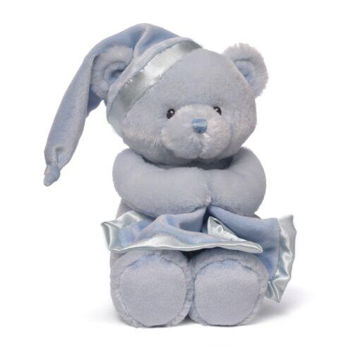 My First Teddy Baby Gund Keywind Musical 2014 Version Blue