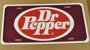 Dr. Pepper USA Auto Nummernschild License Plate Deko Blechschild
