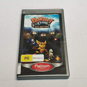 Playstation-Portable-PSP-Ratchet-and-Clank-Size-Matters-Free-Post-From-Melbourne