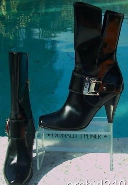 Donald Pliner Couture Polished Calf Leather Stiefel schuhe New 6 6 6 6.5 Peace NIB  495 3fd45d