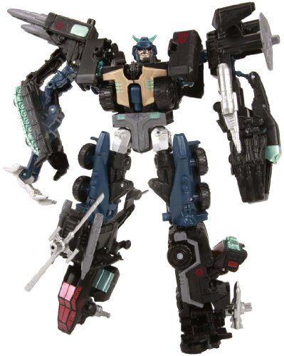Nuevos Transformers Unidos EX07 modo asalto Master Prime