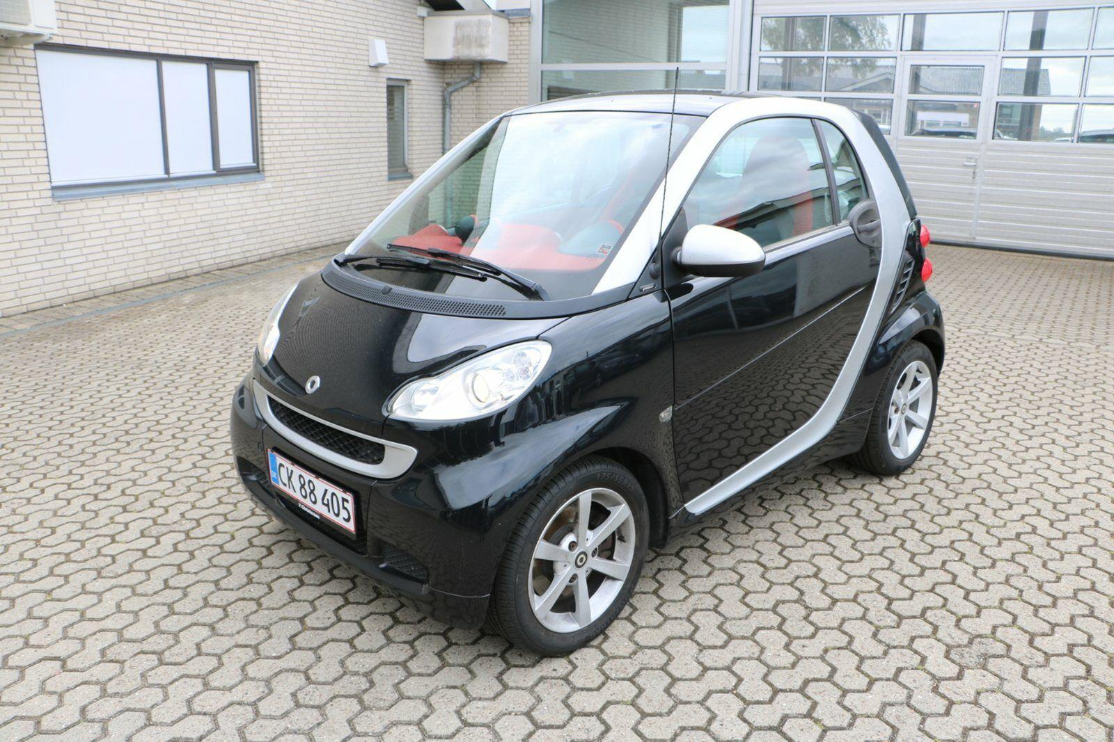 Smart Fortwo Coupé 0,8 CDi 54 Pure aut. 3d