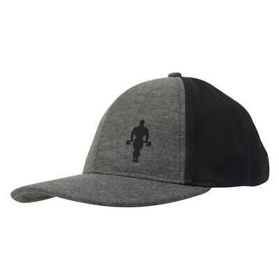 Golds Gym Muscle Joe Workout Sports Flat Peak Baseball Classic Snapback Hat Cap