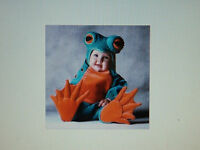 Tom Arma Signature Collection 4/4t-5/5t Toddler Green Frog Costume