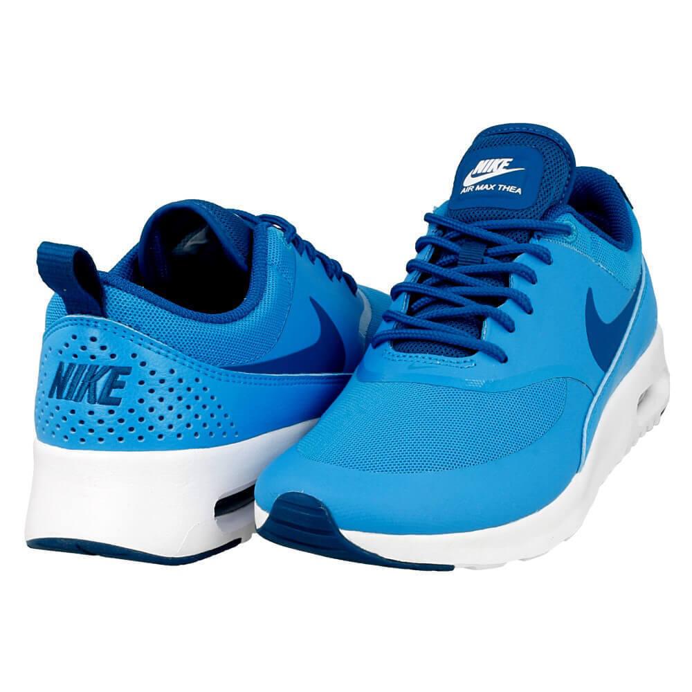 Nike Femme Air Max Thea Chaussures 599409-411 Bleu/Vert/Blanc sz. 5-8