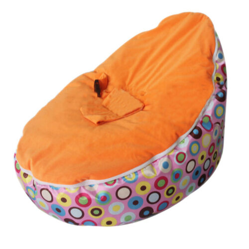 Baby Bean Bag Adjustable Harness Kids Toddler Chair Bouncer Beanbag Cover 2019