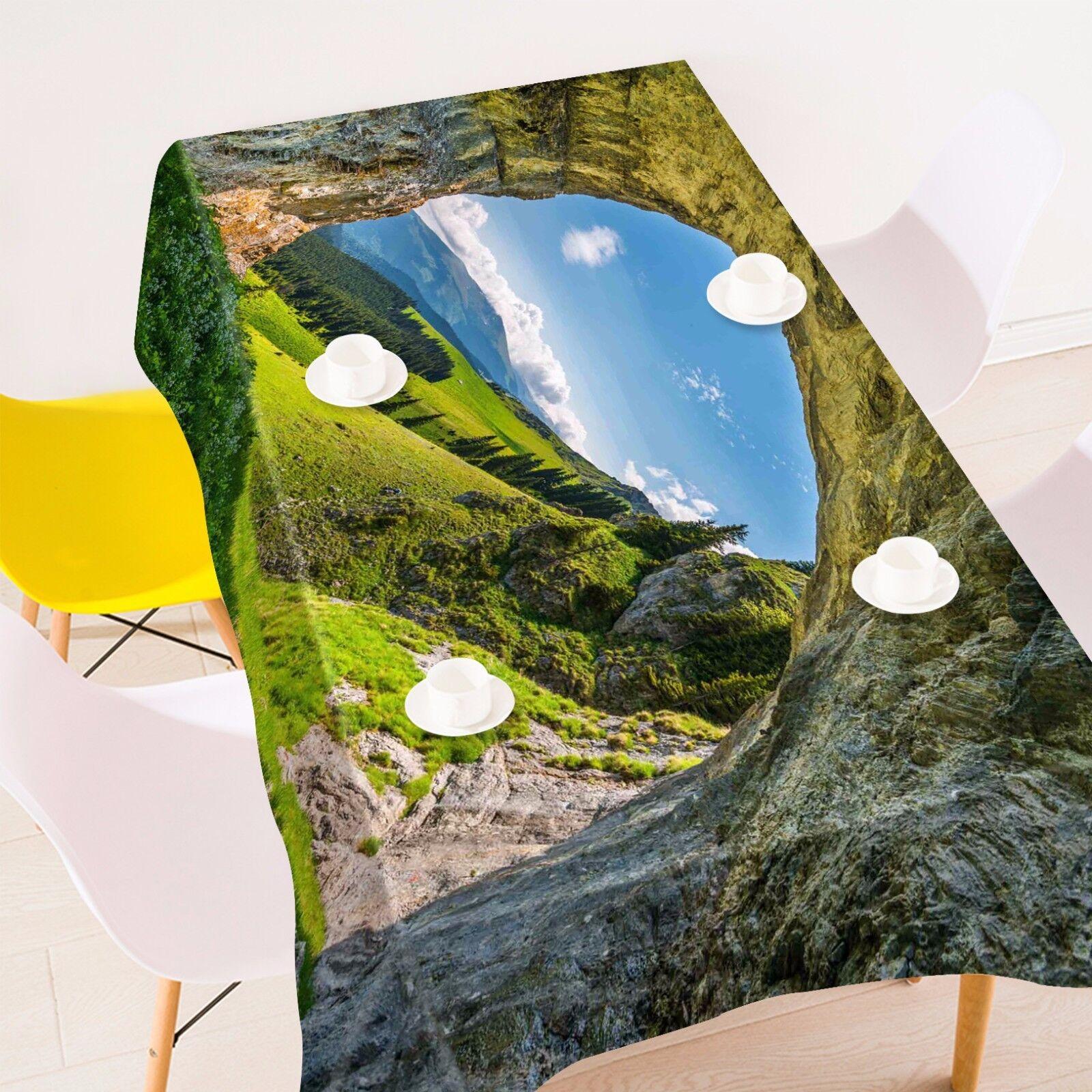3D Grougete Pelouse Nappe Table Cover Cloth fête d'anniversaire AJ papier peint Royaume-Uni Citron