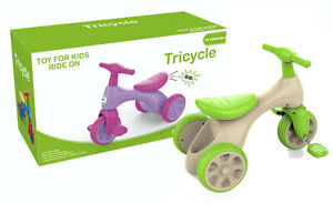 My-First-Tricycle-3-Wheeler-Pedal-Operated-Tricycle-Outdoor-Ride-on-Toy-Xmas-NEW