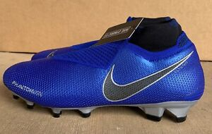 Nike-Phantom-VSN-Elite-DF-FG-Soccer-Cleats-Racer-Blue-AO3262-400-Men-039-s-Size-10-5