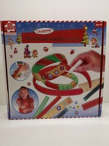Christmas Headband Craft.Details About Kids Create Christmas Craft Kit Headband Bracelets New Decorate Your Own