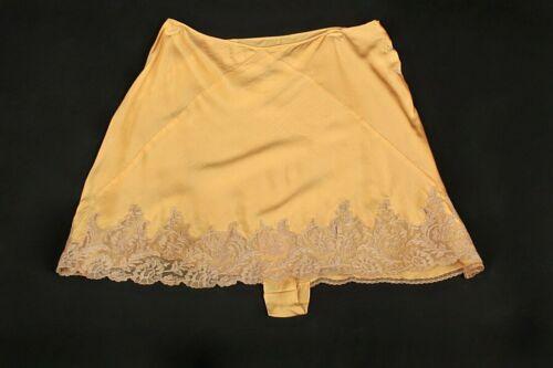 VTG Women's 20s 30s High Waist Yellow Underwear W