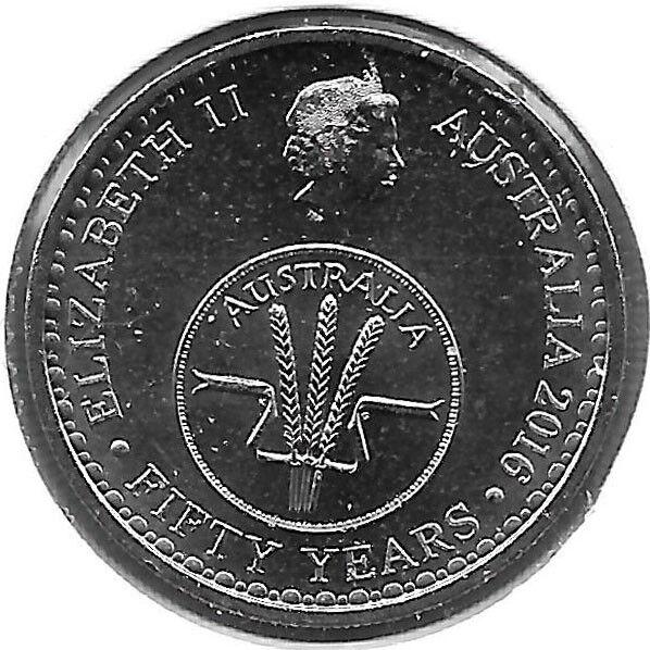 Australian 2016 10 Cent Changeover UNC Coin