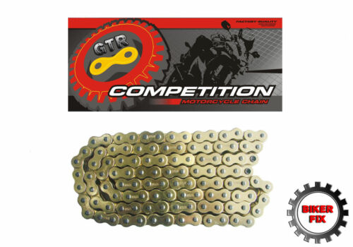 Suzuki RV125 K3,K4,K5,K6 Van Van 03-06 Gold Heavy Duty Chain