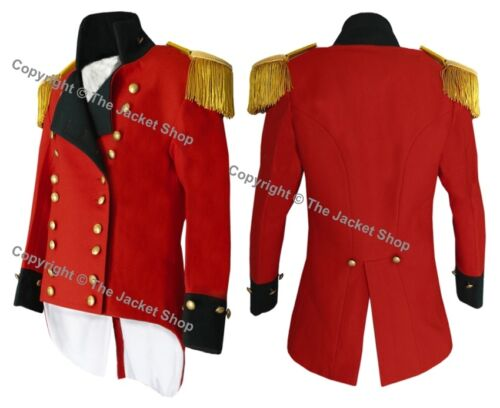 British Officer's Frock Coat Tunic Circa 1810 All Sizes