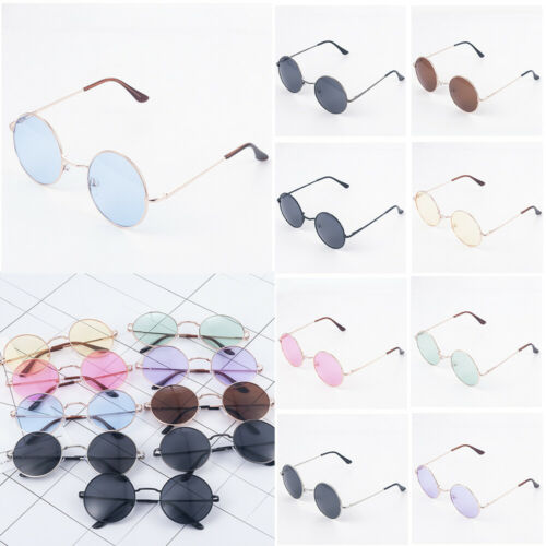 John Lennon Style Hippie Round Sunglasses Retro Classic Sun Glasses Eyewear New