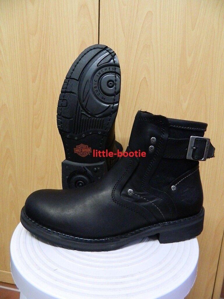 Harley-Davidson Stiefel kurz Stiefeletten Leder Stiefel Herren  # 93348 Woodruff