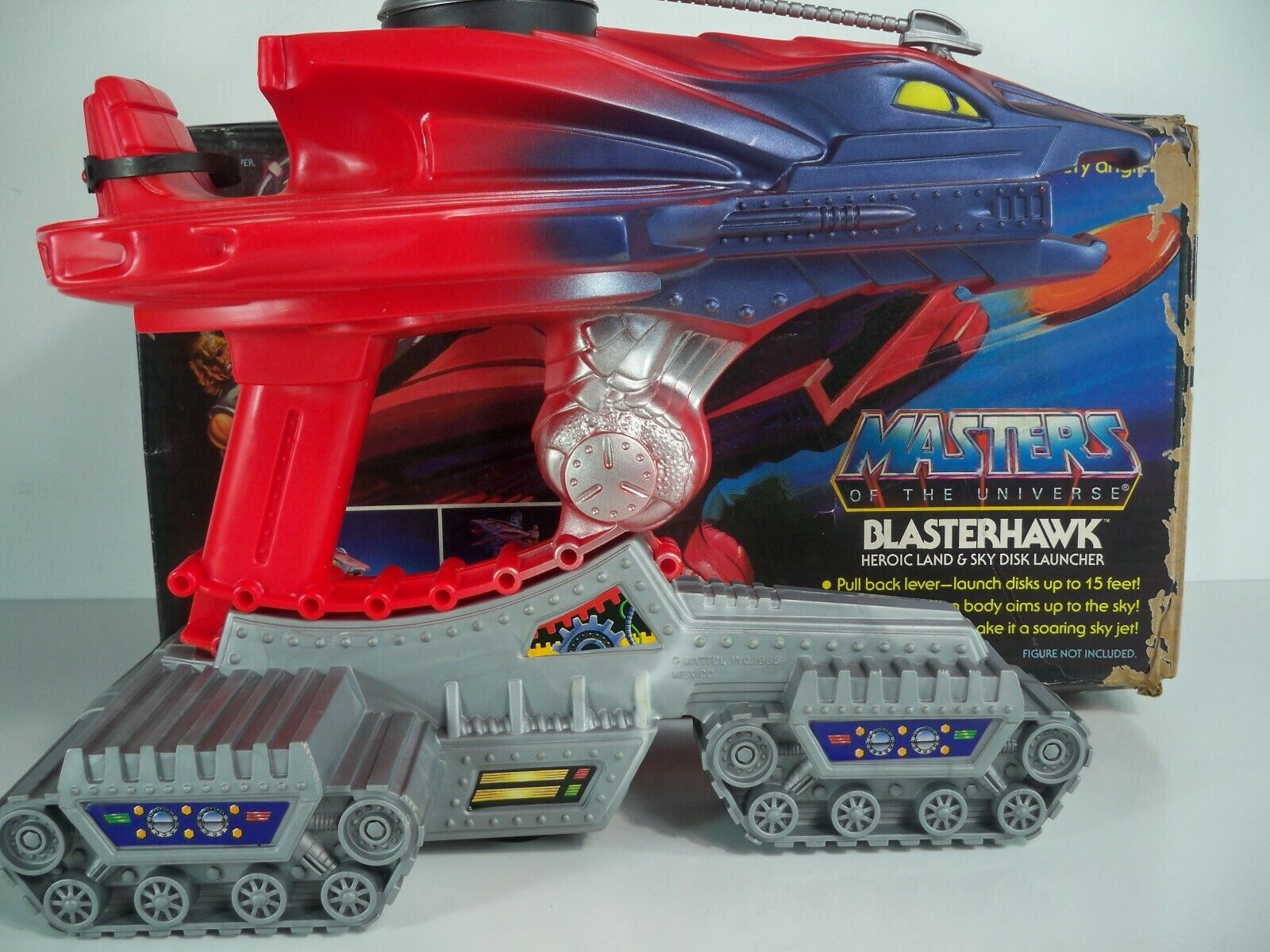 K1905711 BLASTERHAWK W  BOX & INSTRUCTIONS HE-MAN COMPLETE 1986 VINTAGE MOTU 02