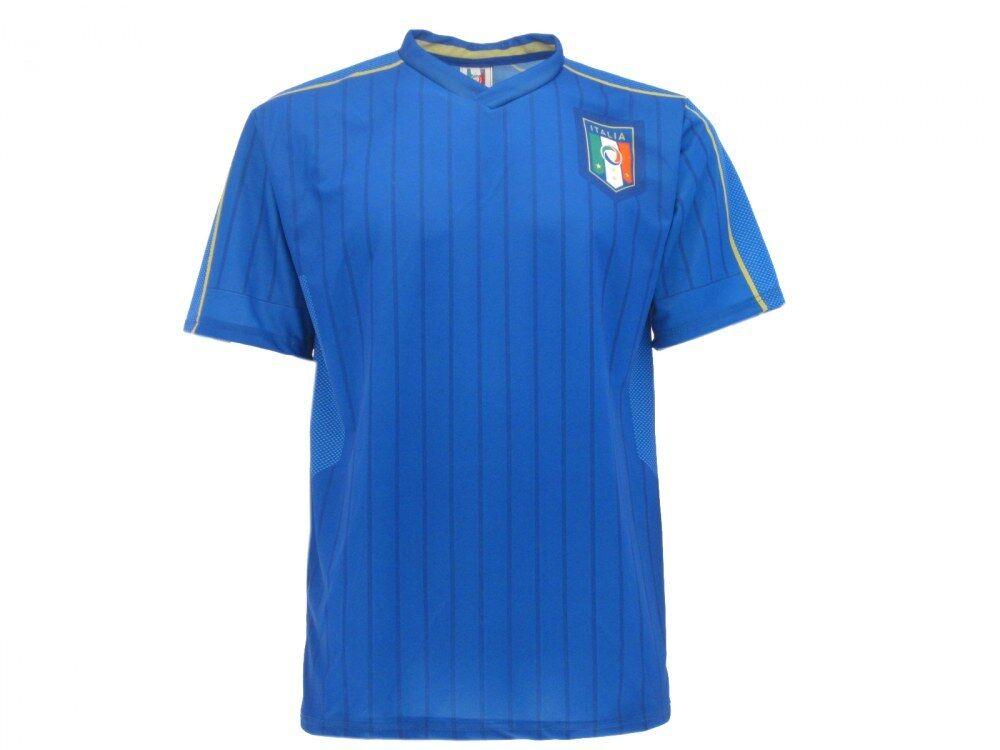 Offizielles Offizielles Offizielles Trikot Italien national Föderation FIGC neutra Fußball blau 2b8231