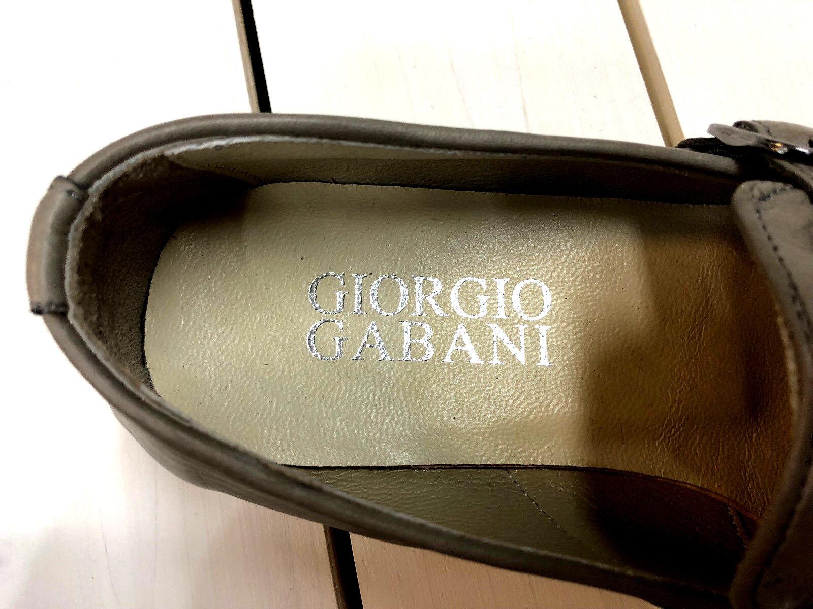 Giorgio Gabani Slipper VERDE doppelmonk  mocassino vitello pelle in pelle Uomo  doppelmonk  43 24dc88