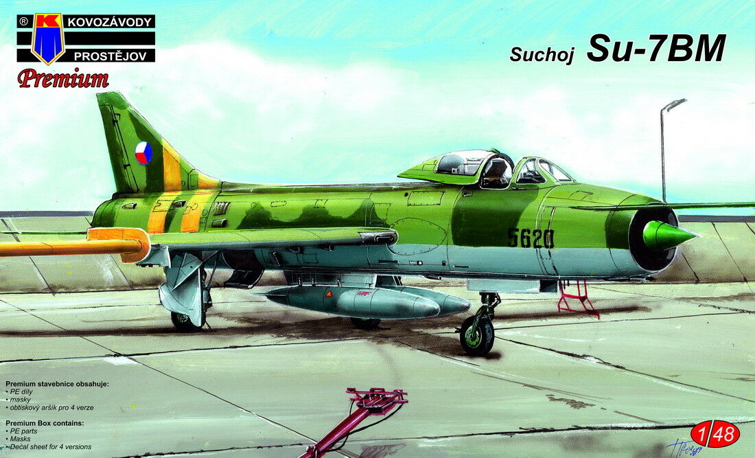 Kovozavody Prostejov 1 48 Sukhoi Su-7BM CzAF