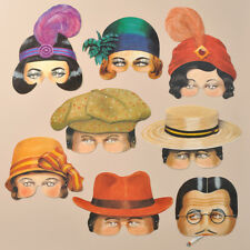 Mamelok Roaring Twenties Paper Masks (R453)