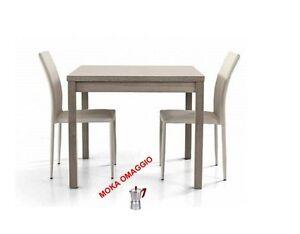 Tavoli Da Pranzo In Legno Allungabili : Tables&chairs tavolo da pranzo grigio legno rovere quadrato
