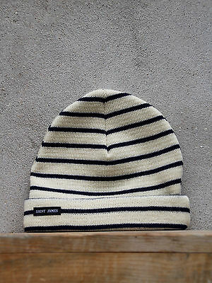 Saint James Barbaresque Hat in Navy Blue 100/% Wool Made in France